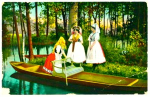 Boating on the Spreewald